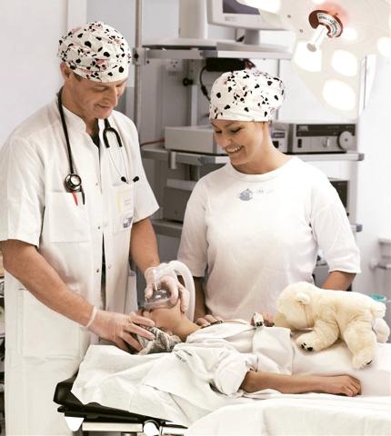 O controle de insuflamento do cuff garante ótima vedação hermetica com mínima pressão do médico.